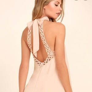 New Lulu's Any Sway , Shape or Form Blush Pink